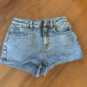 Pac Sun high waisted shorts